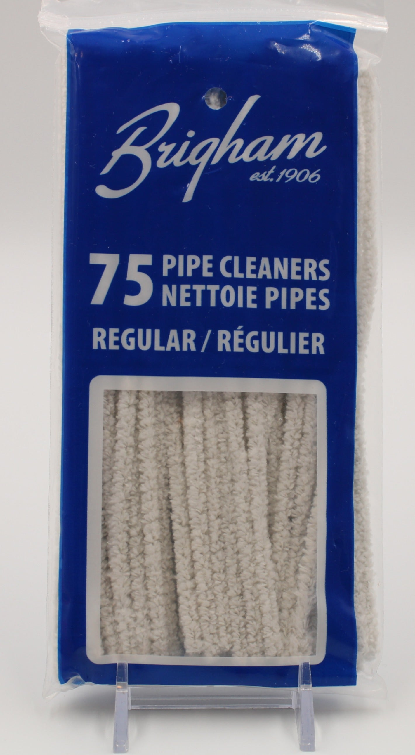 A 75 Pack of Brigham Smooth Pipe Cleaners
