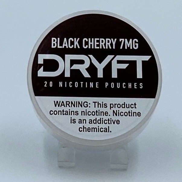 Dryft Black Cherry 7MG Nicotine Pouches