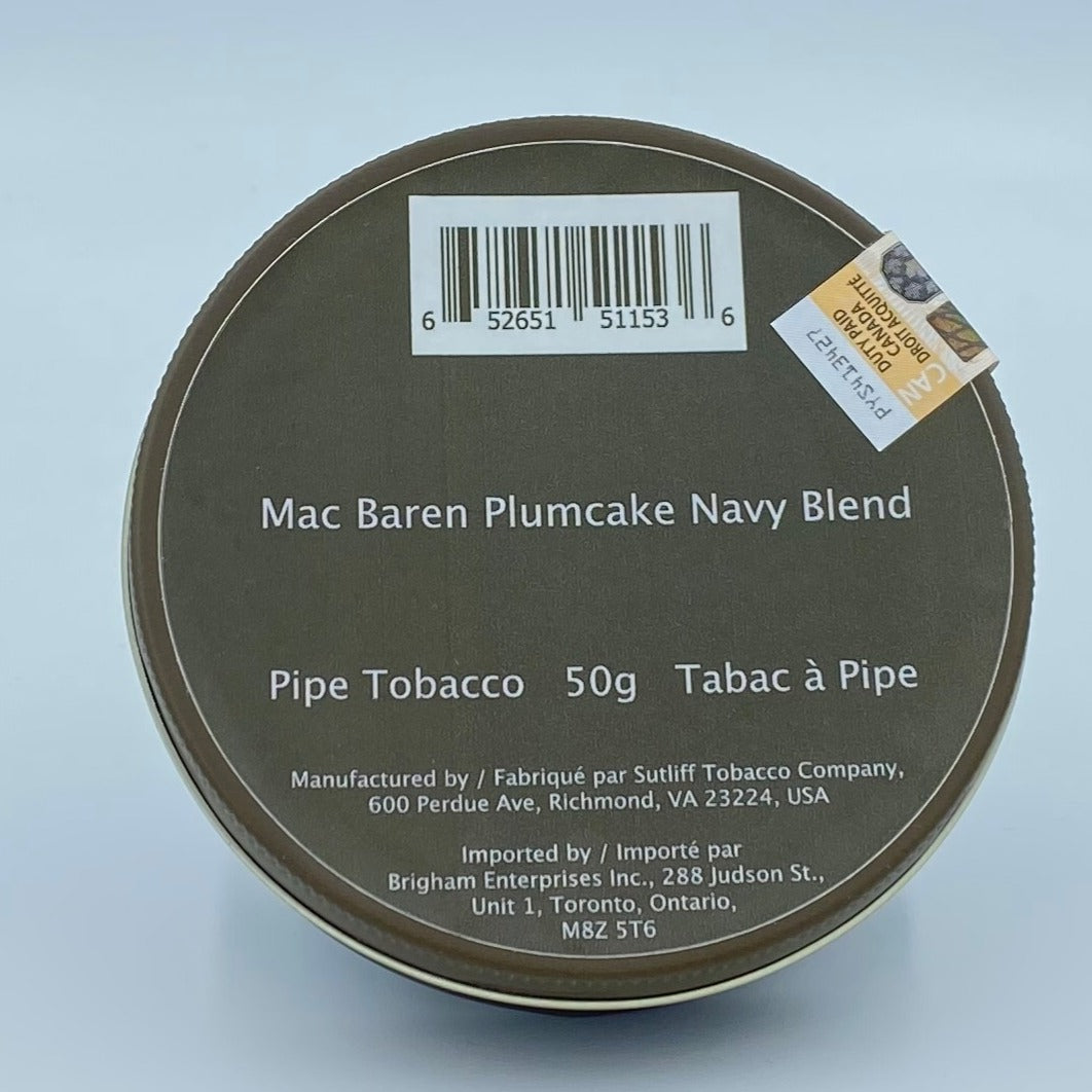 Mac Baren Plumcake Navy Blend 50g Pipe Tobacco