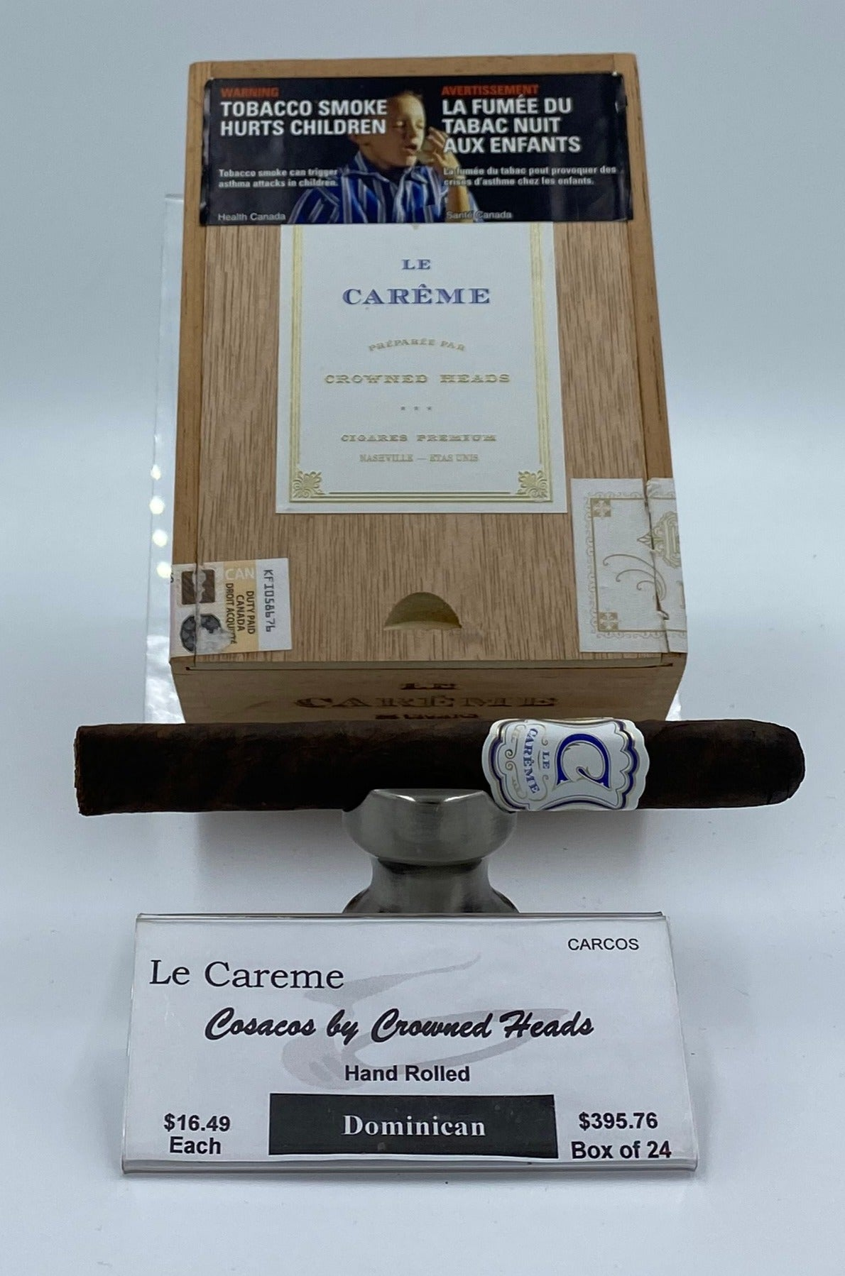 Le Careme Cosacos by Crowned Heads