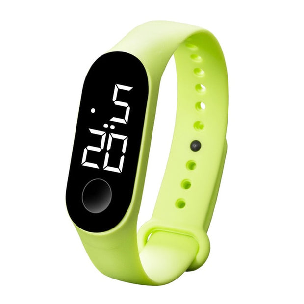 Unisex Sport Watch Waterproof LED Luminous  Electronic Sensor Watch