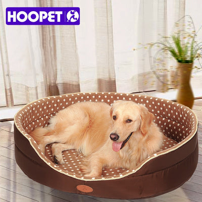 Double sided available large dog bed