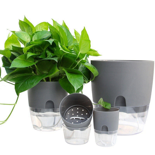 2 Layer Watering Flower Pot