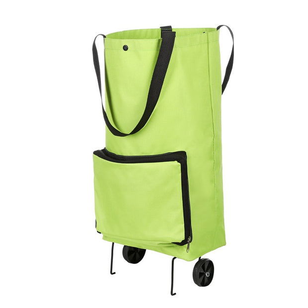 Foldable Multifunction Waterproof Shopping Trolley Bag with Wheels