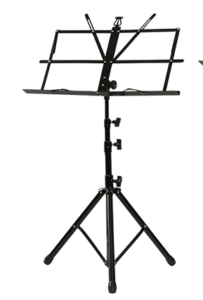 Music Sheet Holder Tripod Stainless Steel Adjustable with Carry Bag for Musical Instrument