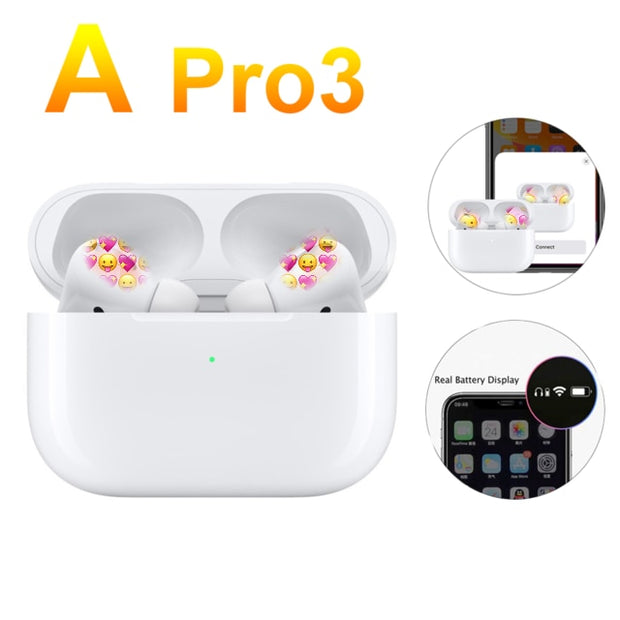 Earphones Airpodating Pro Touch Control Wireless Bluetooth 5.0 Earbuds Headsets 3D Stereo