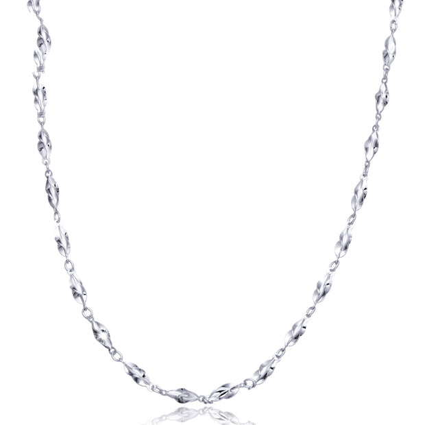Jewelry Women Necklace Elegant Platinum Pt950 Real White Solid Gold