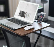 Portable Laptop Desk Small Reading Table Standing Work Table Fixed To Chair Use For Home Office