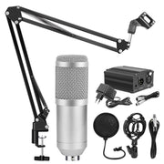 Microphone Condenser Vocal Record KTV Karaoke For Radio Broadcasting Singing Mic Holder