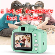 Kids Digital High Quality HD 1080P Video Camera Toys Color Display Gift Toys