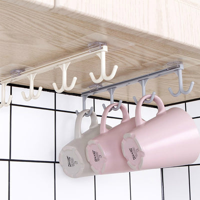 1 pc Kitchen Strong Nail-Free Cabinet hanging hook  Multi-Function