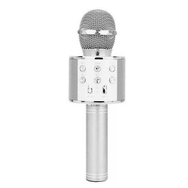 Microphone Speaker Handheld Wireless Karaoke Music Recorder KTV Karaoke System