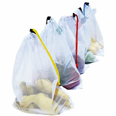 Food Grade Safety and Environmental Protection Reusable Bags 5Pcs