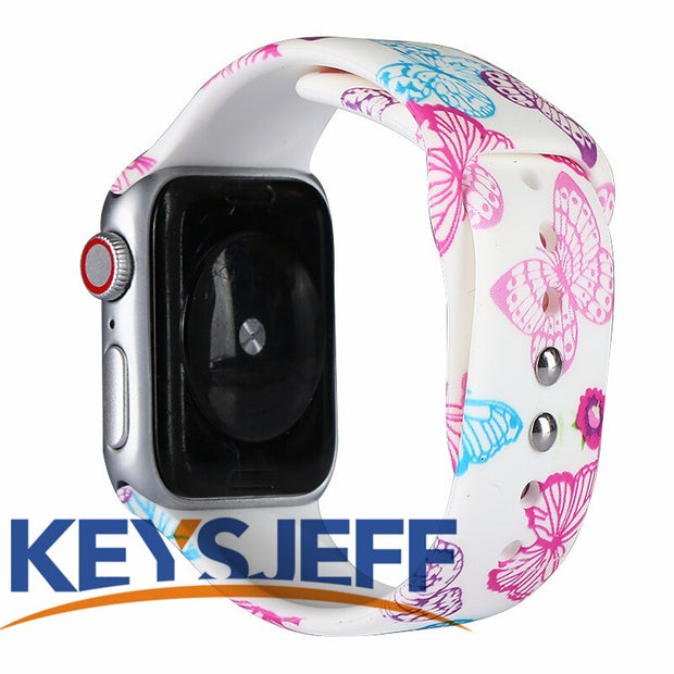 Apple Watch Band Fadeless Pattern Printed Bands