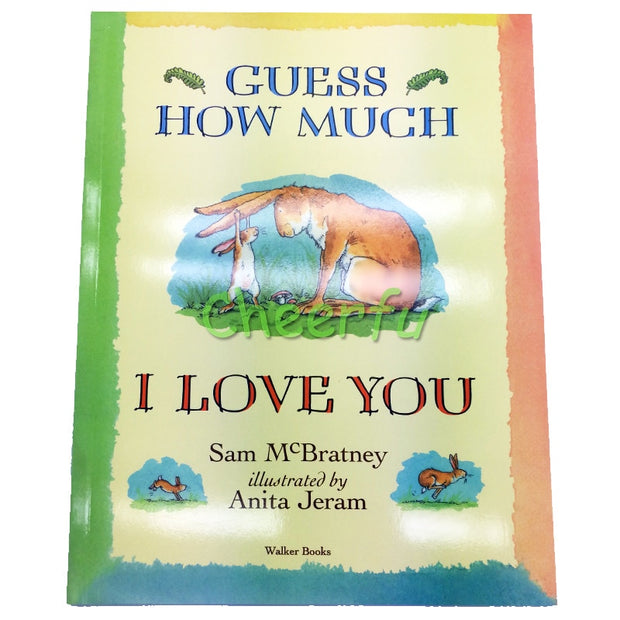 English Story Books Educational for Chirldren Best Picture Guess How Much I Love You