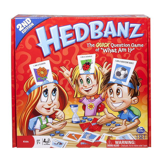 HedBanz Game Edition The Quick Question of What am I Cards Board