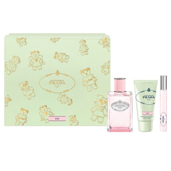 Women's Perfume Set Infusion Rose Prada (3 pcs)