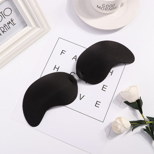 Push Up Bra Silicon Invisible Niple Cover Sexy Strapless Stealth Adhesive Backless Breast Enhancer