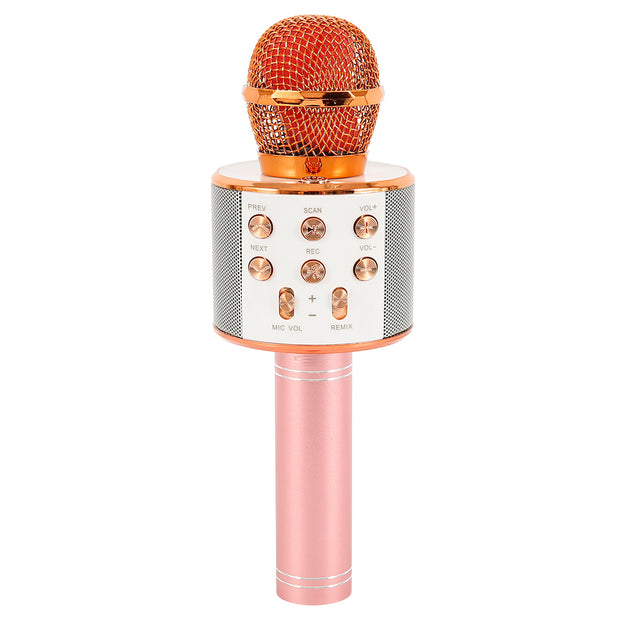Microphone Wireless K-song Handheld Mic Music Player Singing Recorder KTV Mic