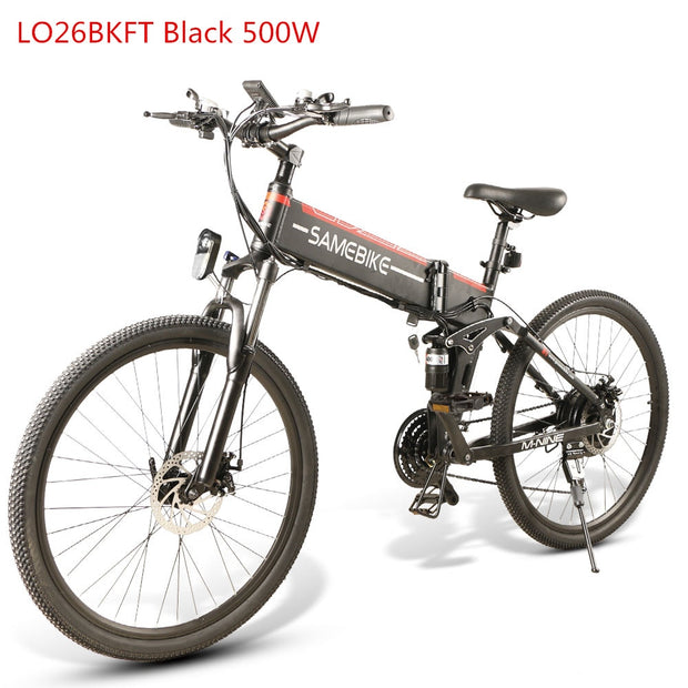 Electric Mountain Bike Motor Folding 48V 350W 500W