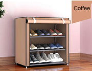 Fabric Cabinet Organizer Storage Shoe Rack Hallway Holder  4/5/6 Layers