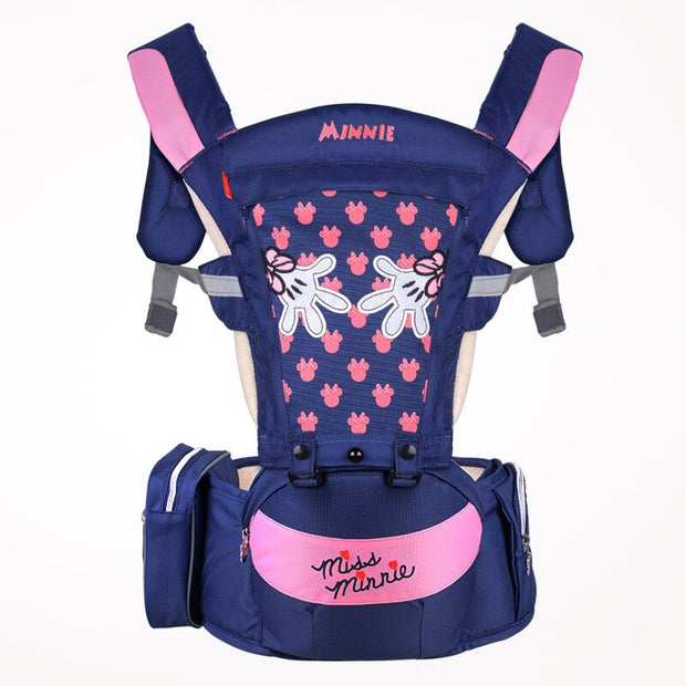 Ergonomic Baby Carrier Hipseat Sling Front Facing Kangaroo for Travel