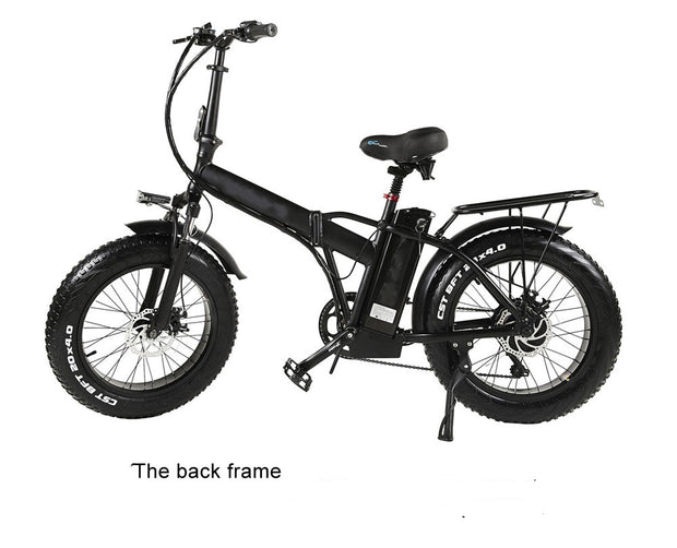20 inch 500W 48V15AH lithium battery fat tire electric bicycle