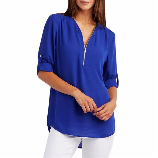New Spring Summer Fashion Women Tops Casual Street Long Sleeve