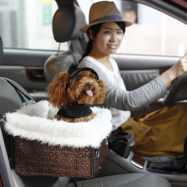 Pet Dog Car Seat Carrier Foldable Portable WaterProof Bed