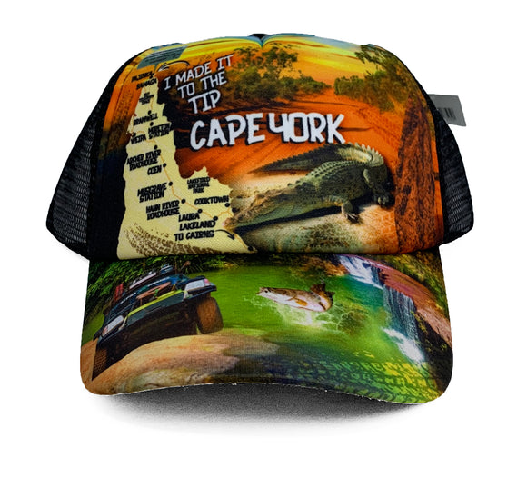 Adventure Sunrise Truckers Cap