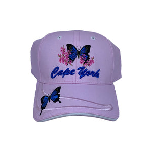 Ulysses Butterfly Embroidered Cap