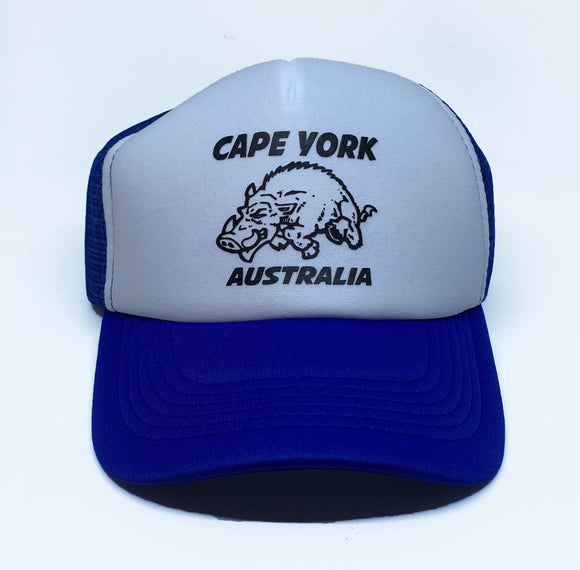 Cape York Wild Boar Truckers Cap