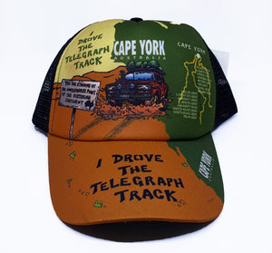 I Drove the Tele Track Truckers Cap