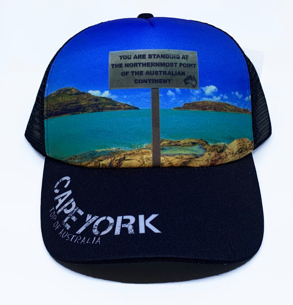 Cape York Tip POV Truckers Cap