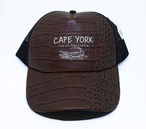 Cape York Croc Skin Truckers Cap