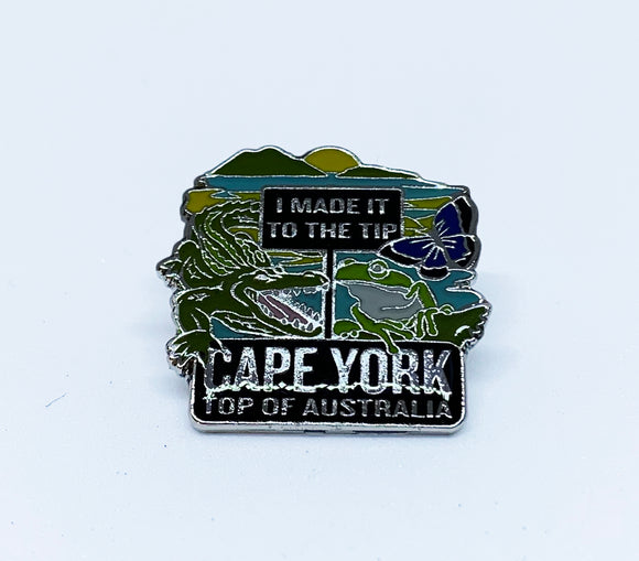 Cape York Tip Montage Hat Pin