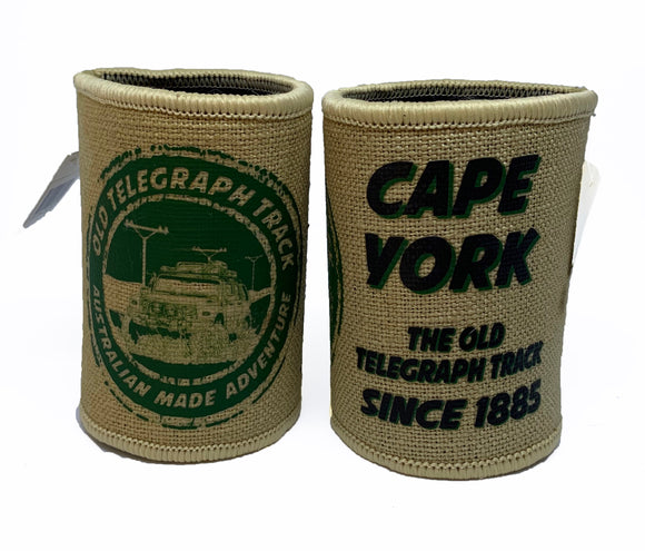 Cape York Tele Track Stamp Hessian Cooler