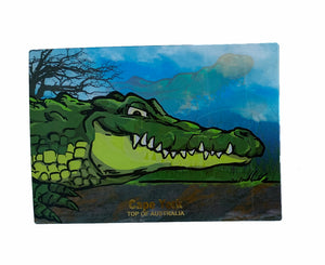 GDay Croc 3D Postcard (Moving 3D)