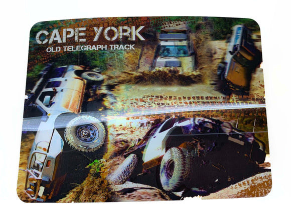 Cape York Chaos 3D Placemat