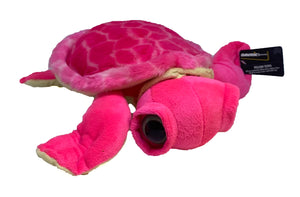 Pink Turtle Plush Toy