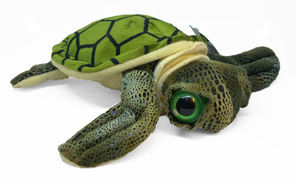 Green Turtle Plush Toy