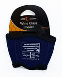 Tip Sign Wine Glass Cooler
