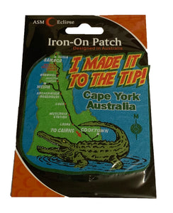 I Made it to the Tip Iron On Patch