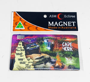Adventure Sunset Large Flexi Magnet