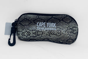 Snake Skin Glasses Case