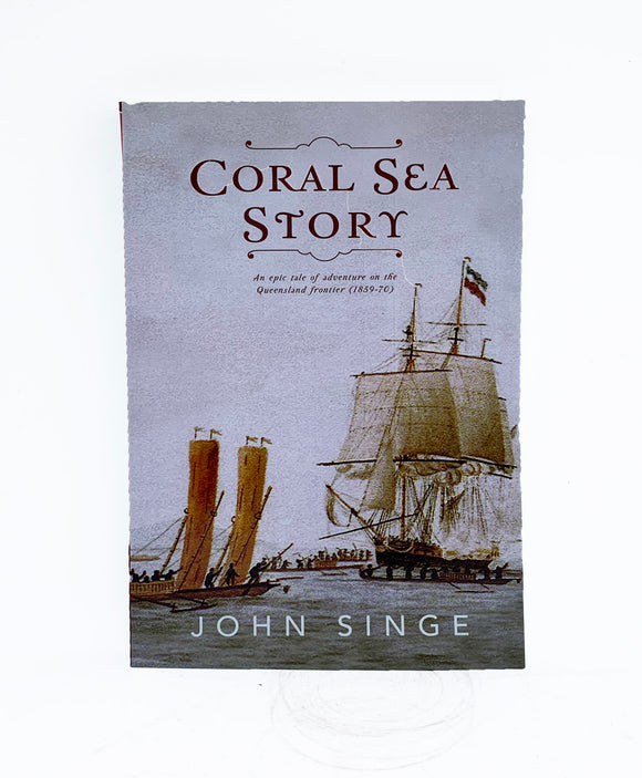 Coral Sea Story Paperback Book