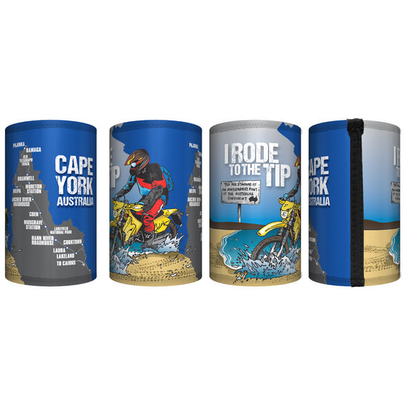 2020 I Rode Cape York Stubby Cooler