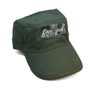 Cape York Brush Art Military Style Cap