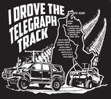 I Drove the Telegraph Track T-Shirt (Navy with White print)