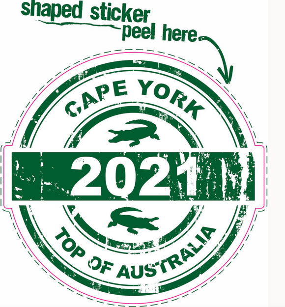 2021 Stamp Sticker